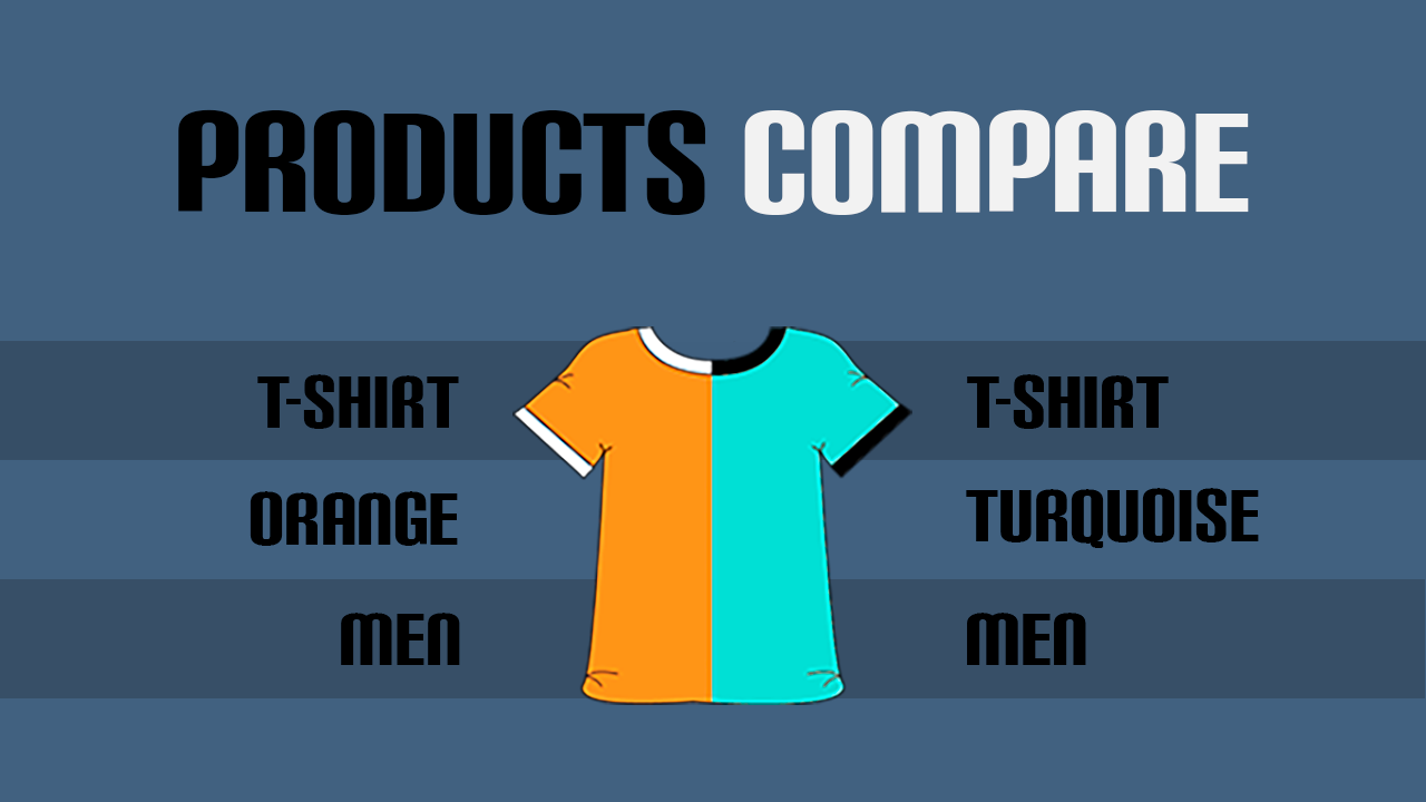 Products compare. Why it should be in every store