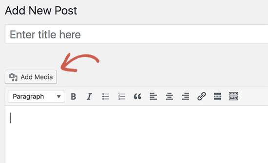 Add media button stopped working in WordPress