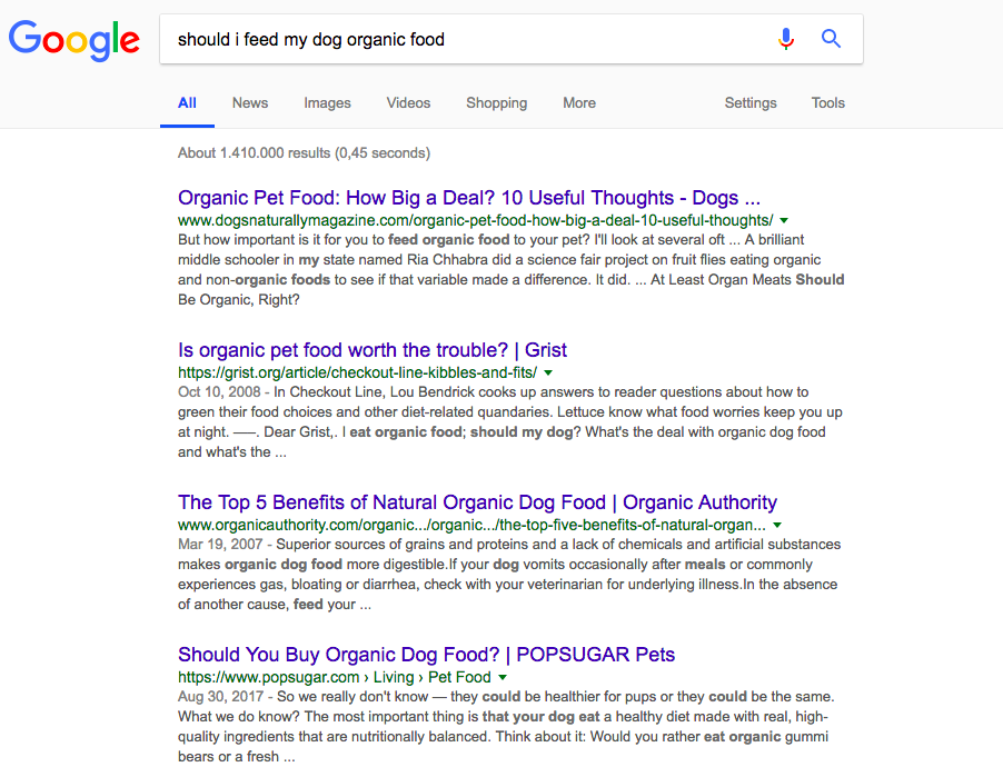 user-intent-google-search