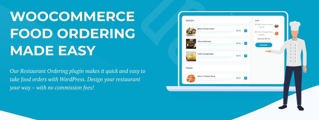 WooCommerce Food Ordering made easy